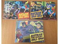 X3 Batman The Dailies