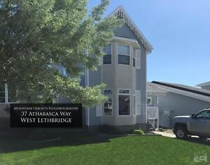 37 Athabasca Way West with Large Heated Garage