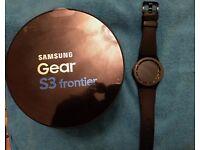 Samsung frontier Gear S3 smart watch