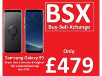 Samsung Galaxy S9 / New / BSX Door Buster Deal Only £479 / not a refurbished crap