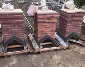 💫Smart Stack Brick Effect Single Pot Chimney * £100