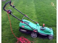 QUALCAST 1600W Electric Rotary Lawn Mower for Sale