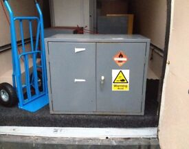 4 metal storage units the lot £10 must go to clear space from storage unit will drop off free