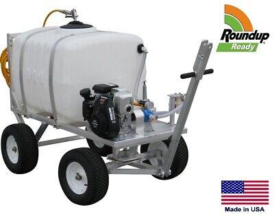 Sprayer Commercial - 4 Wheel Trailer Mounted - 100 Gallon Tank - Roundup Ready