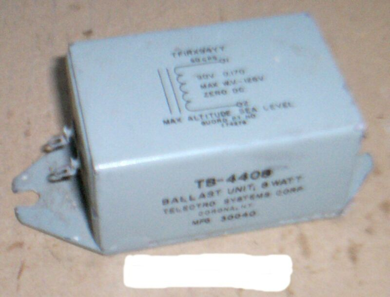 Telectro Systems Corp. - DC Lamp Ballast - P/N: 774276 (NOS)