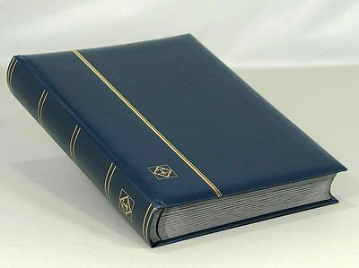 Lighthouse Leatherette Stockbook (64 Black Pgs) Blue - over 30% OFF LSP4/32