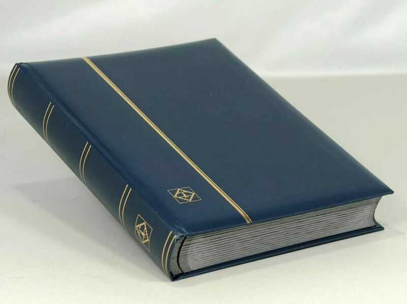 Lighthouse Leatherette Stockbook Comfort S64 Blue (LSP4/32) - Free Shipping