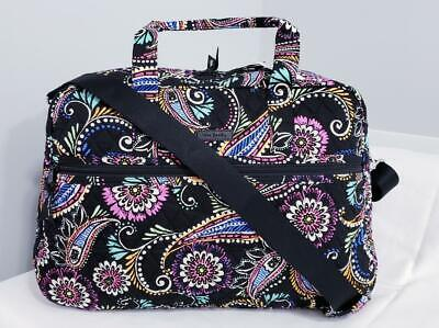 Vera Bradley Medium Traveler Bag Bandana Swirl Weekender Gym Travel NWT