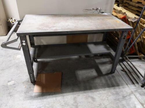 Heavy Duty Steel Worktable for Warehouse