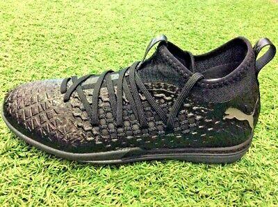 Future 4.3 Netfit TT Turf Soccer Shoes Black - Puma Men's - -