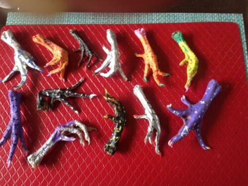 CHICKEN FEET STRONG MAGIC PROTECTION CHICKEN FOOT~ WICCAN/VOODOO