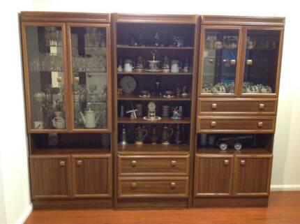 White storage units | Bookcases & Shelves | Gumtree Australia Port ...