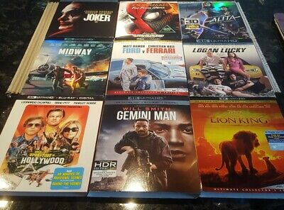 4k slipcovers only No disc Buy 1 get 1 free *please read*