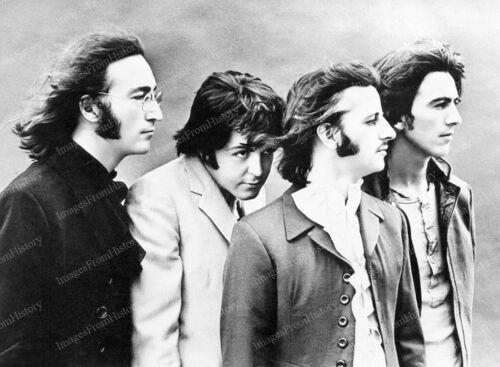 8x10 Print Beatles John Lennon Paul McCartney 1968 #8787