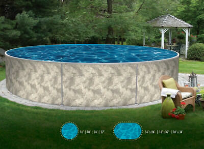 SEMI IN GROUND SWIMMING POOL Package Heat Radiating , Saratoga NY USA