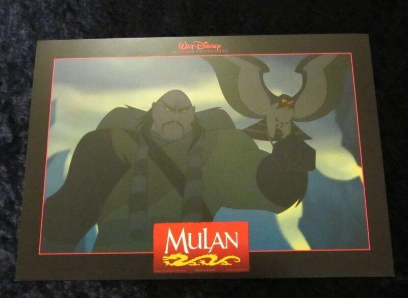 Mulan lobby card  # 5 - Walt Disney