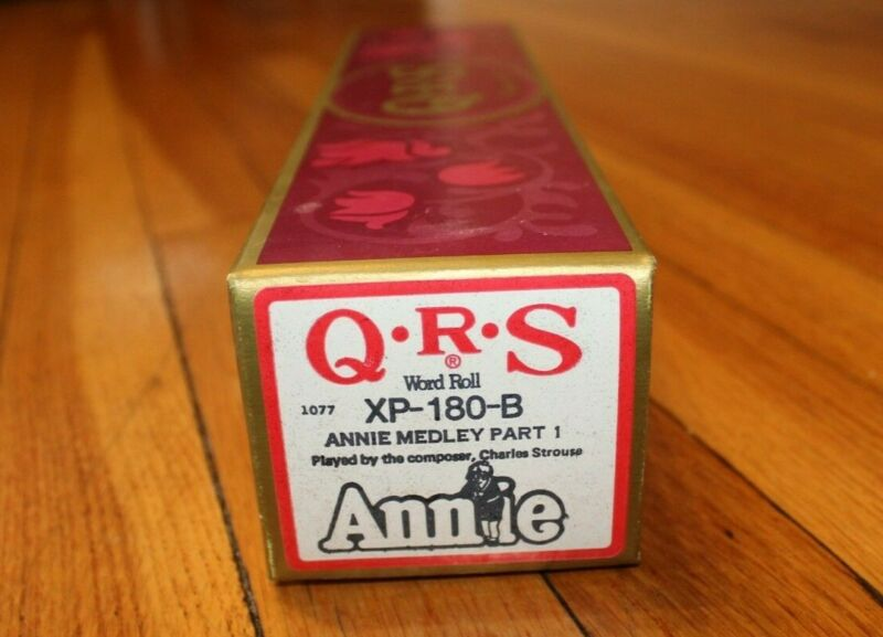 QRS Player Piano Word Roll - Annie Medley Part I XP-180-B