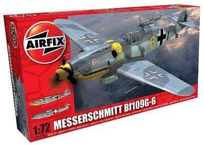 Airfix 1602029 Messerschmitt Bf109G-6 1:72 Modellbau Bausatz Modell Flugzeug