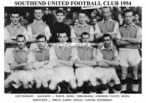 SOUTHEND-UNITED-F-C-TEAM-PRINT-1954-HOLLIS-BARON-SIBLEY