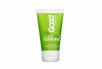 Good Clean Love All Natural Personal Lubricant, Almost Naked 4 oz (Pack of
