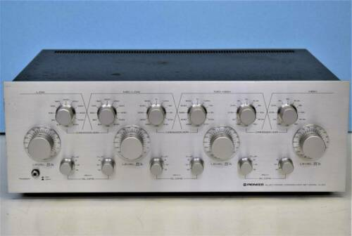 Pioneer D-23 Electronic Crossover Network 4 Way Channel Divider Vintage Japan