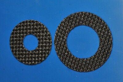 4 Carbontex Drag Washers #SDA201 ABU GARCIA REEL PART 5500 KC3 08-00 AMB