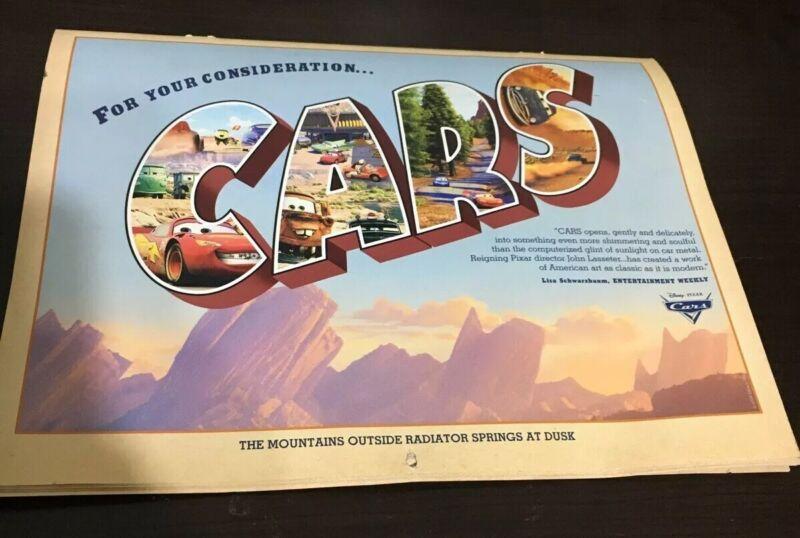 Disney Pixar Cars Wall Calendar For Your Consideration 2007 Collectors Edition