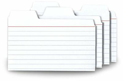 Find-it Tabbed Index Cards 3 X 5 Inches White 48-pack Same Day Free Ship