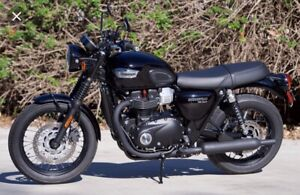 Looking for Triumph Bonneville