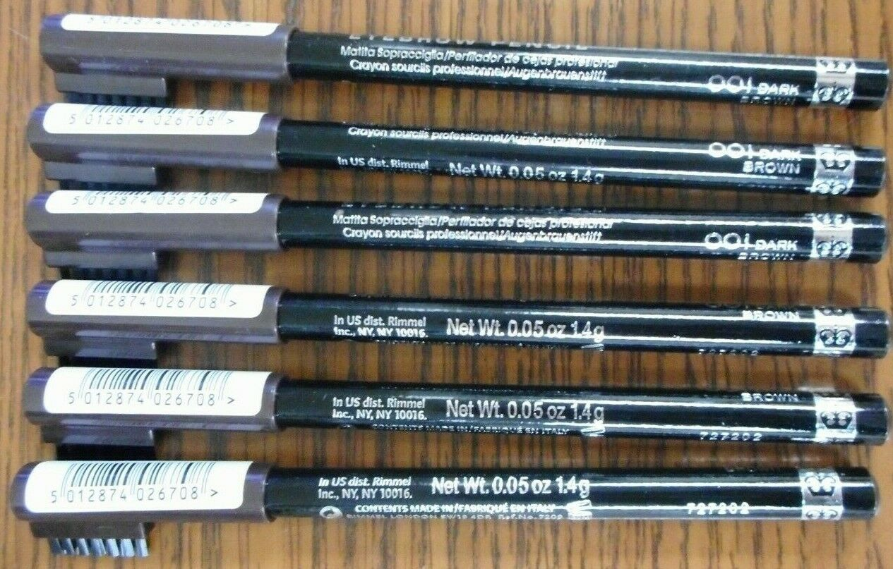 Rimmel Professional Eyebrow Pencil, Dark Brown 1 ea