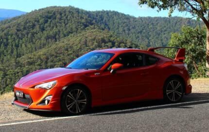 Toyota 86 GTS Aero Bodykit - New tyres