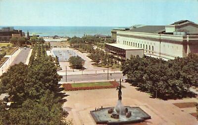CLEVELAND, OH Ohio  PUBLIC MALL War Memorial Fountain~Statue  Chrome (Cleveland Mall)