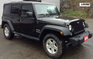 2015 Jeep Wrangler Unlimited Sport 4X4 OFF ROAD DELIGHT Clean Ca