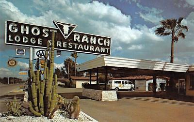 Ranch Lodge (GHOST RANCH LODGE West Miracle Mile Roadside Tucson, Arizona ca 1960s Postcard)