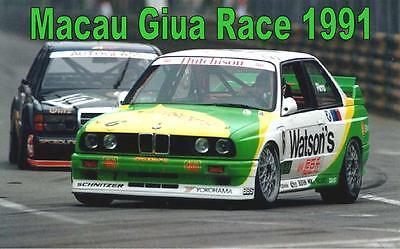 DVD: Macau Giua Race 1991 - BMW M3 E30 Watsons / Mercedes 190E Evo 2 Zung Fu