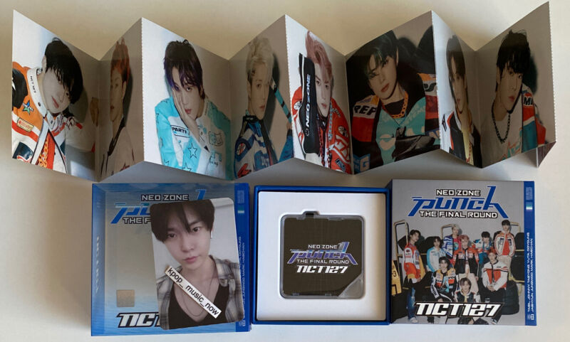 DOYOUNG FULL SET PHOTOCARD KIHNO KIT NCT127 NEO ZONE THE FINAL ROUND PLAYER 1 2