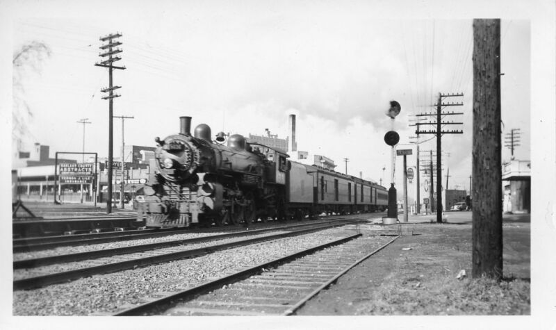 5A902 RP 1940s? CN CANADIAN NATIONAL RAILROAD ENGINE #5036