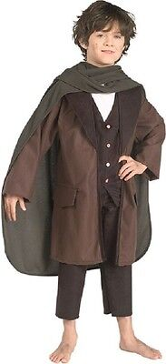 Frodo Baggins Lord of the Rings Hobbit Fancy Dress Up Halloween Child Costume](Kids Frodo Costume)