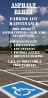 LINE PAINTING/ LOT SWEEPING - BOOK TODAY!