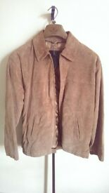 NEW XL Mens Genuine Leather Jacket