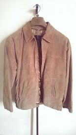 NEW XL Mens Genuine Leather Jacket