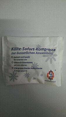 Kältekompresse Kälte Sofort Kühl Kompressen,100 Stück