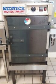 Inhouse redneck smoker sold with stand and drip tray