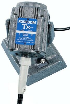 Foredom M.txm Bench Top Flex Shaft Motor 13hp Built-in Dial Control High Torque