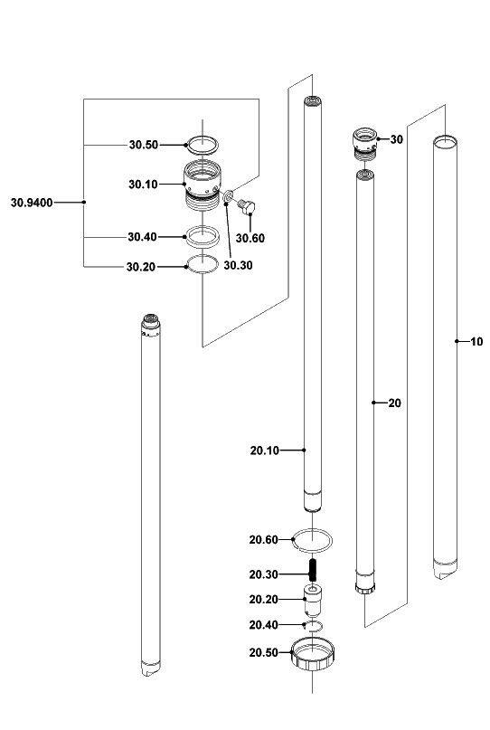 Ölbehälter Jungheinrich AM2000; Mic TM2000 Gummi-Öltank Steinbock WH20
