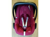 Car seat Maxi Cosi Pebble Red in great condition