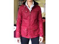 Women's BARBOUR wax jacket - size 8 - BNWT