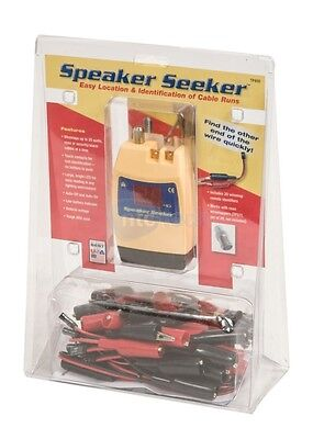 Jdsu Test-um Tp400 Speaker Seeker Coaxial 20-cablewire Mapping Tester Module