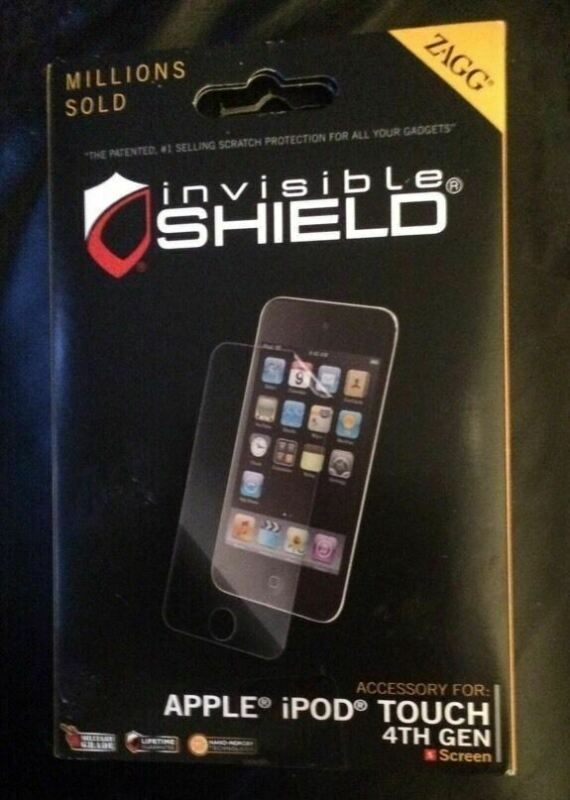 ✅​​ Zagg - Invisible Shield Apple Ipod Touch 4th Generation