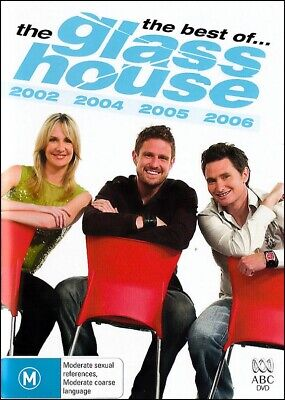 Best of the GLASS HOUSE 2002 2004 2005 2006 Aussie Comedy TV Series DVD Region